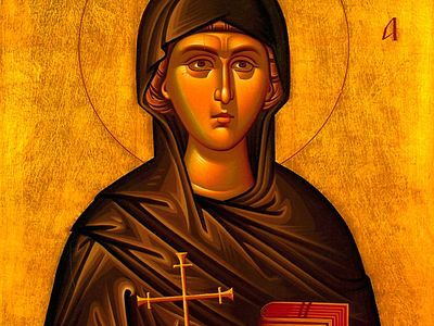 Святая великомученица Евфимия Халкидонская (+Аудио)