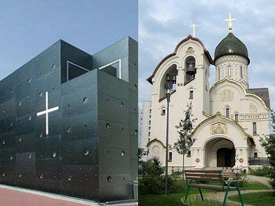 Современное храмоздательство: опора на традицию или постмодерн?