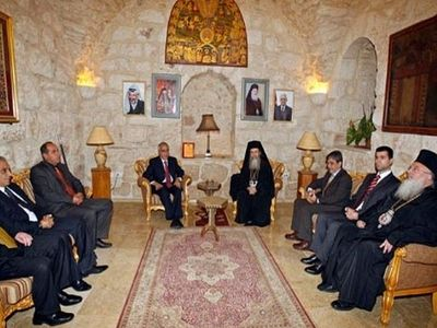 Patriarch of Jerusalem: We will Respond to the Occupation Crimes in the Holy Land with More Construction