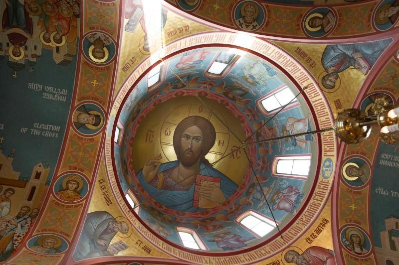 Интерьер Свято-Никольского собора