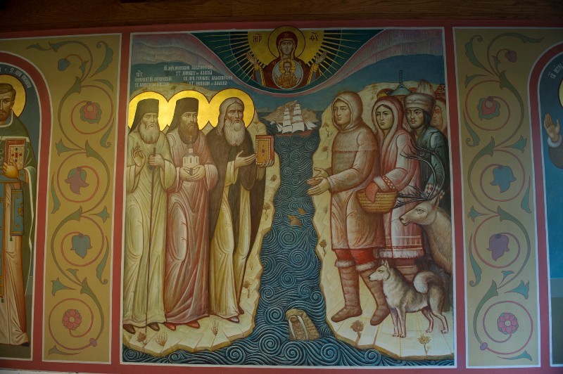 Фрески Свято-Никольского собора