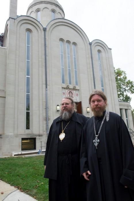 Митрополит Иона (Паффхаузен) и архимандрит Тихон