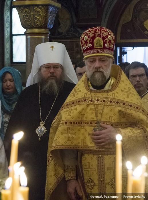 Митрополит Иона (Паффхаузен) и протоиерей Виктор Потапов