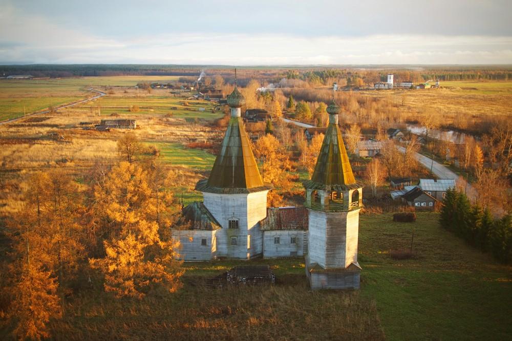 Богоявленская церковь в Ошевенском