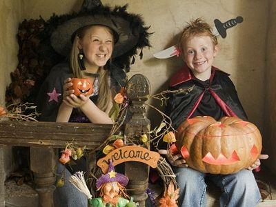 Хеллоуин: как уберечь детей