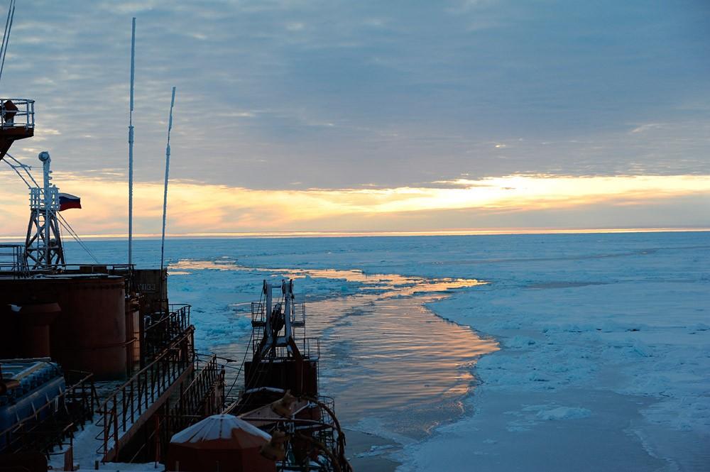 Лед в Арктике в этом году аномально тонок