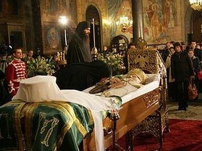 Болгария прощается с патриархом Максимом