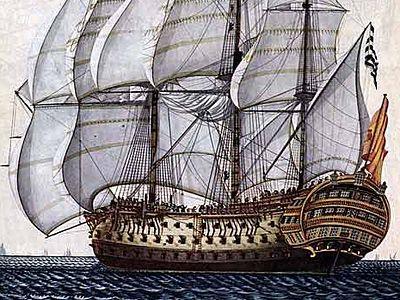 Слишком большой корабль