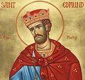 Страдания святого короля и мученика Эдмунда, покровителя Англии