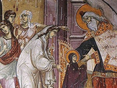 Homily on the Day of the Entry of the Most Holy Theotokos into the Temple