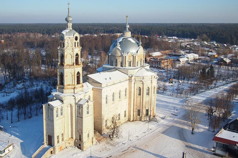 Троицкий собор. Гусь-Железный