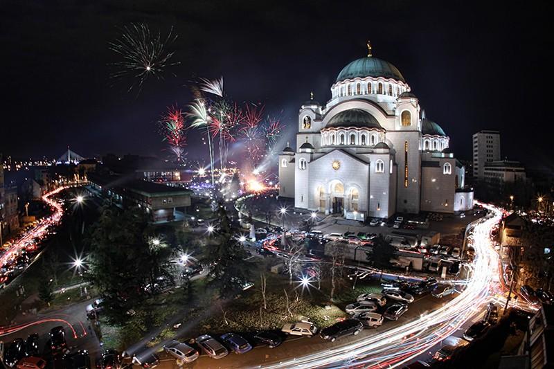 Cобор св. Саввы, Белград, Сербия