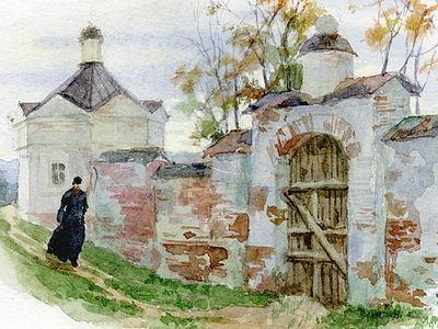 Акварели Алии Нуракишевой