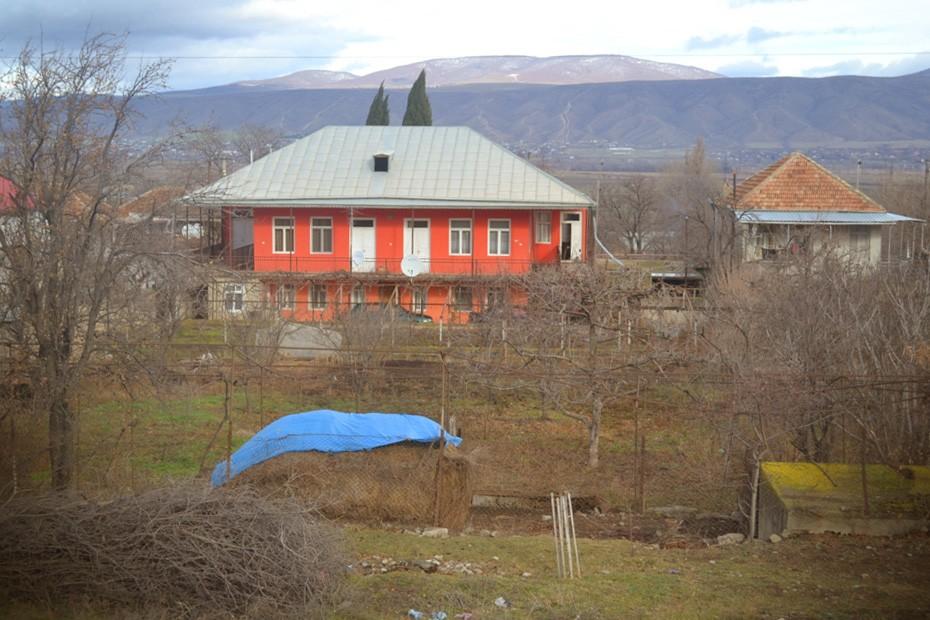 Обычное горийское село