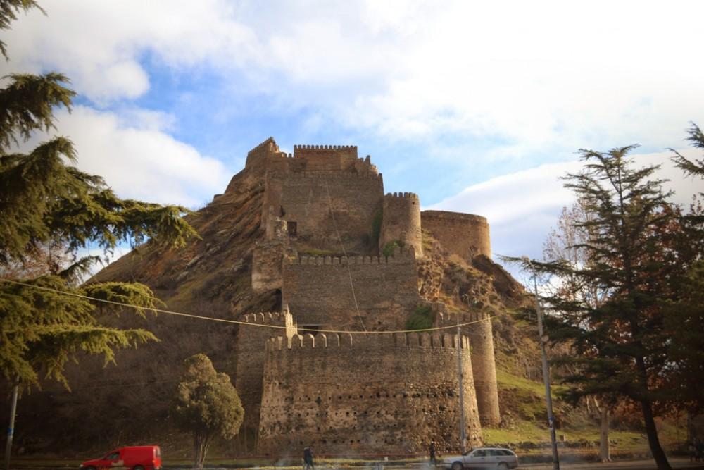 Горисцихе — крепость Гори