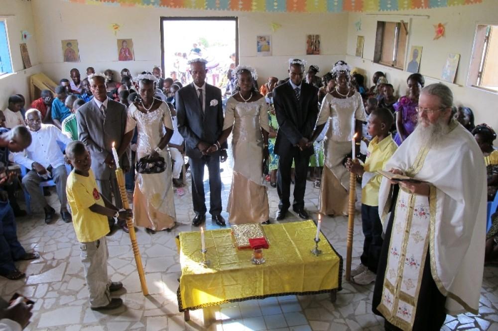 Венчание в местечке Луеги