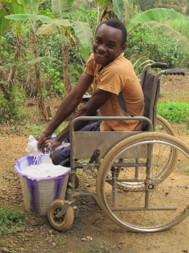 Инвалид Базиль (по нашему Василий) из Долизи
