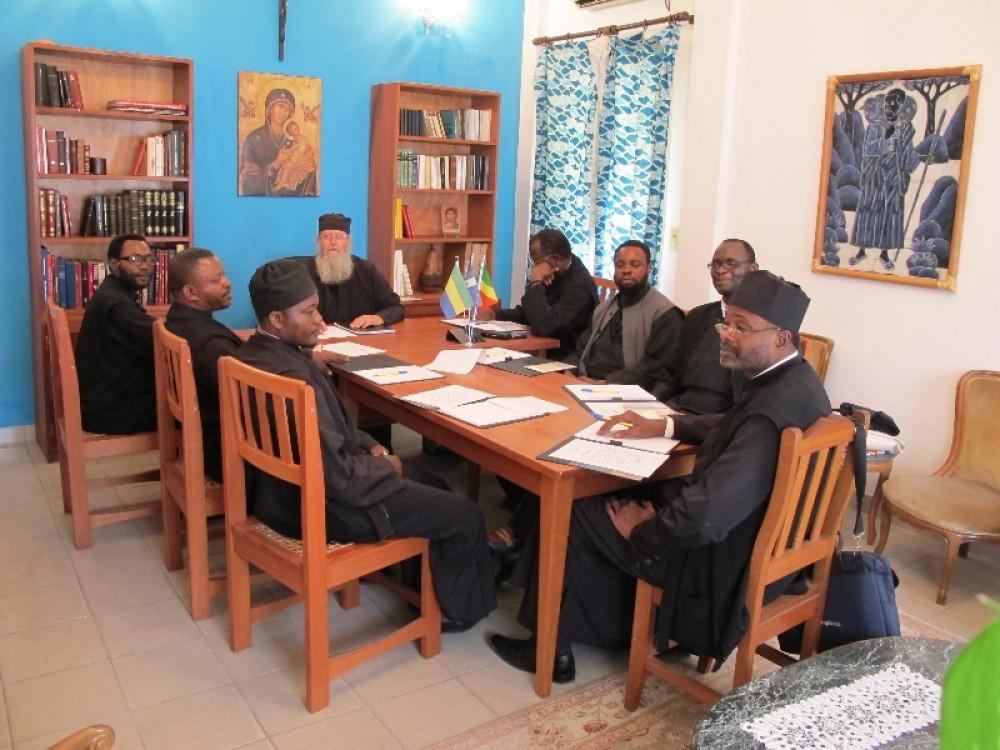 Ежегодное собрание духовенства в Пуэнт-Нуаре