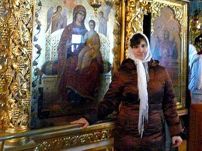 В Киеве прозрела слепая девушка