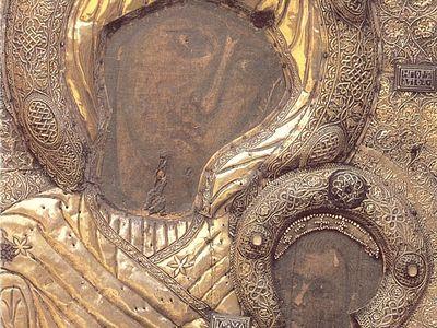 Иконы Афона: Иверская (Вратарница, Портаитисса)
