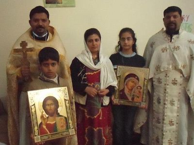Iranian Family Converted to Orthodoxy in Islamabad