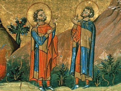 Свв. исп. Евгений и Макарий