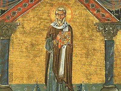 Свт. Агафон, папа Римский