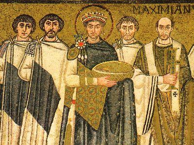 Эпоха до и после императора Юстиниана Великого