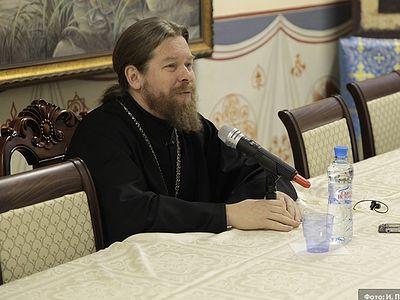 Встреча с архим. Тихоном в Донском монастыре