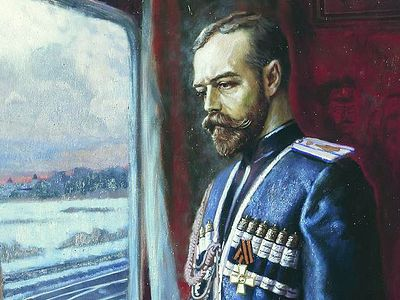 Подвиг св. Николая II в его отречении от престола