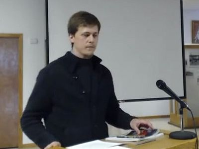 "Lecture by Dr. Alexis Torrance (University of Thessaloniki) ""The Concept of a Person in Modern Orthodox Theology."""