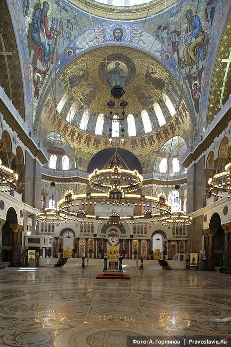 Кронштадтский собор. Интерьер