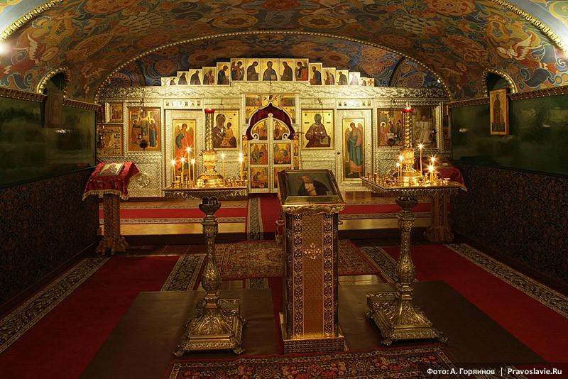 Нижний храм Феодоровского собора в Царском селе