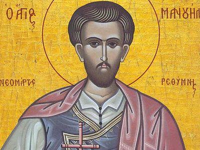 Св. мч. Мануил Критский