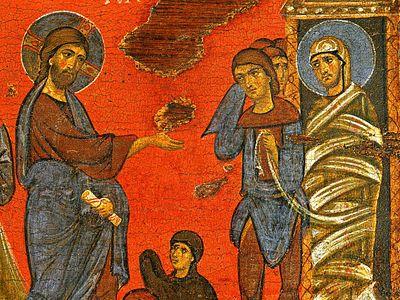 Суббота 6-й седмицы Великого поста. Воскрешение праведного Лазаря