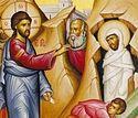 Вечернее богослужение в Сретенском монастыре в пятницу 6-й седмицы Великого поста