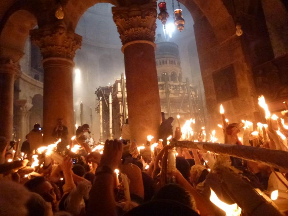Сошествие Огня 15 апреля 2012 года