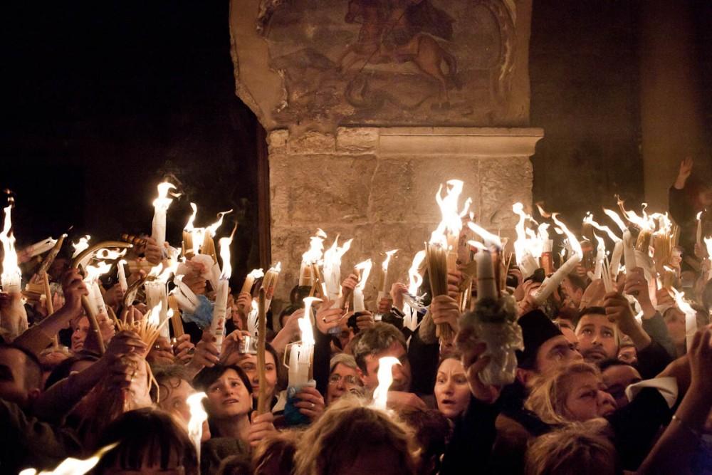Схождение Благодатного Огня 2009 года