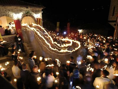 Orthodox Christians Celebrate Holy Pascha