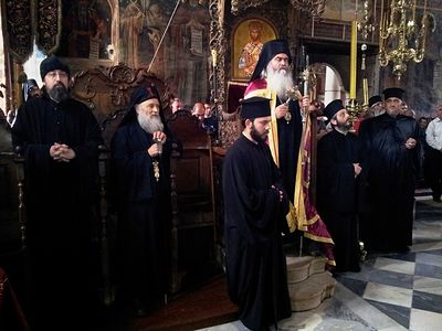 The Monastery Zographou on Mount Athos celebrates its patronal feast