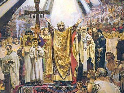 Кирилло-Мефодиевская традиция и служба святому равноапостольному князю Владимиру