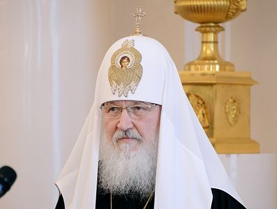 Patriarch Kirill calls to stop bloodshed in Syria immediately