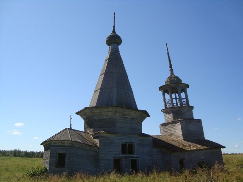 Воймозеро. Церковь  святой великомученицы Параскевы, 1864 г.
