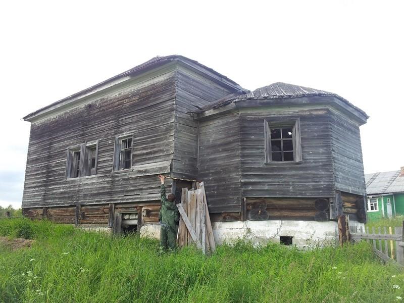 Каргомень. Храм св. Николая Чудотворца, XVIII в.