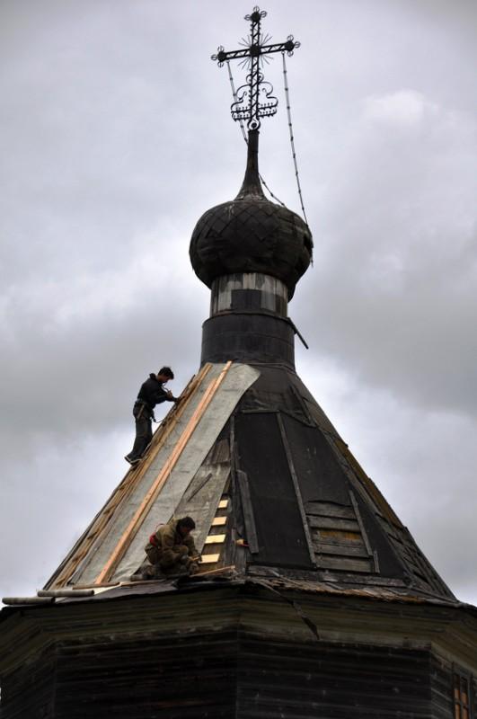 Семёновская. Часовня преподобных Зосимы и Савватия Соловецких, XVIII – XIX в.