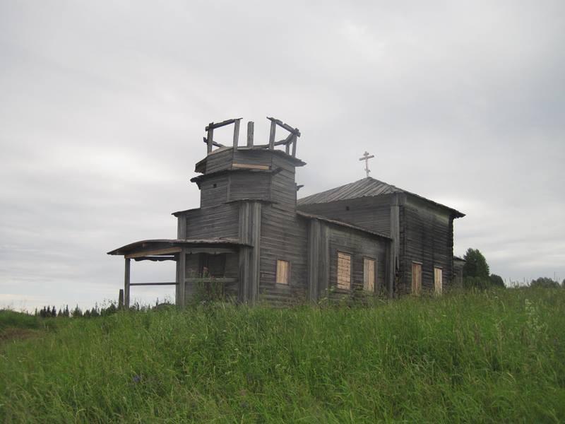 Усть-Нерманка. Храм святой великомученицы Екатерины, 1870 г.