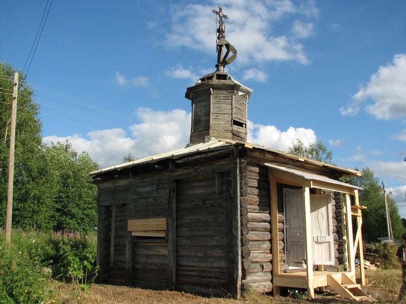 Фроловская. Часовня великомученика Георгия Победоносца, XVII в.