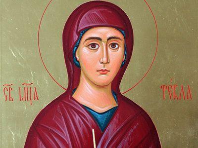 Св. мцц. Фекла, Мариамна, Марфа, Мария и Еннафа