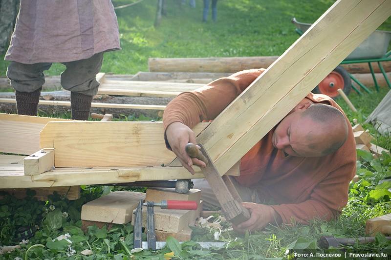 Строительство деревянного судна