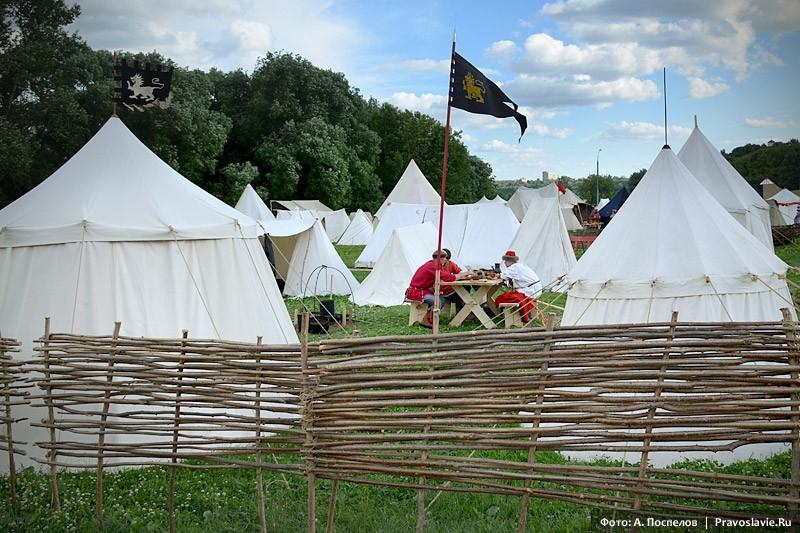 Лагерь в Коломенском